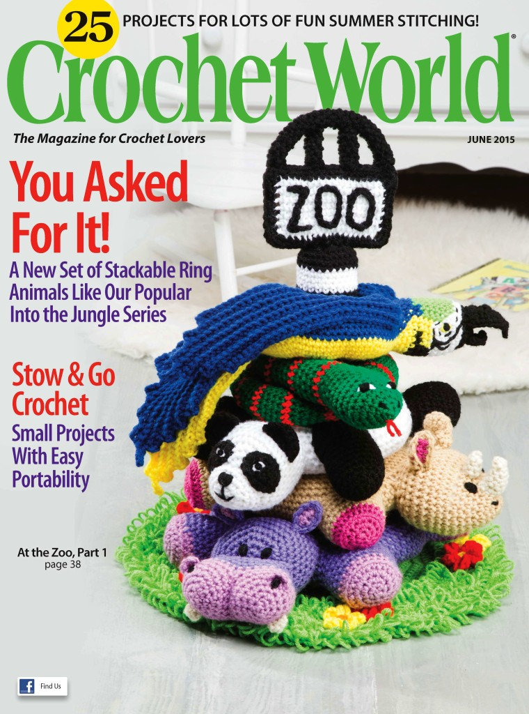 Book Cover Crochet Uk ~ Learn something new at the zoo crochet world