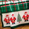 Welcome Home -- Santa Plaid Afghan