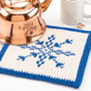 Let It Snow! -- Winter Frost Hot Pad