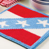 Outdoor Living -- Star-Spangled Hot Pad