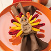 Giving Thanks -- Turkey Napkin Ring