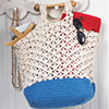 Seashells by the Shore -- Sand & Surf Tote