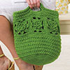 Garden Party -- Wild Rose Bag