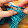 Single Crochet Short Rows: Closing the Gap