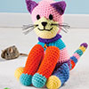 Scrap Delights -- Patchwork Kitty