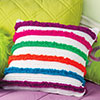 Nifty Neons -- Loop-de-Loop Pillow