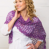 Summertime Living -- Lilac Dreams Shawl