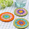 Scrap Delights -- Ring Around Coasters