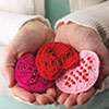 Heartfelt Crochet -- Prayerful Hearts