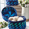 Nesting Tapestry Baskets