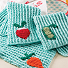 Happy Days Kitchen -- Eat Your Veggies Towels