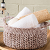 V-Stitch Basket