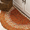 Fast, Easy, Fun! -- Autumn Hues Kitchen Rug