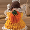 The Colors of Autumn -- Harvest Blessings Angel