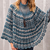Touch of Style -- Open Shells Poncho