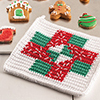 Last-Minute Gifts -- Christmas Nine-Patch Hot Pad