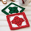 Fast, Easy, Fun! -- Christmas Star Coasters