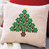 Scraps Delight -- Country Christmas Pillow