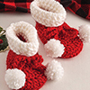 Last-Minute Gifts -- Easy Baby Booties