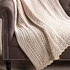Crochet for the Holidays -- Elegant Cable Throw