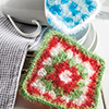 Last-Minute Gifts -- Granny Square Scrubbies