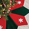 Crochet for the Holidays -- Snowflake Tree Skirt
