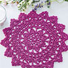 Fast, Easy, Fun! -- Berry Delight Doily