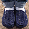 Socks, Slippers & More -- Comfort Zone Slippers