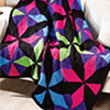 Scraps Delight -- Kaleidoscope Throw