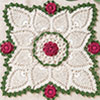 Rose Splendor Doily