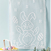 Signs of Spring -- Happy Bunny Wall Hanging