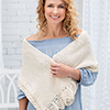 Designer Spotlight -- Elegant Cable Shawl
