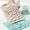 Grab & Go Projects -- Fluffy Bath Mitt