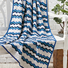 Summertime Blues -- Summer Breeze Throw