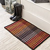 Clever Colors -- Autumn Checkerboard Rug