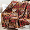 Clever Colors -- Cozy Diamonds Throw