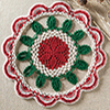 Winter Wonderland -- Christmas Splendor Doily