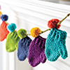 Fast, Easy, Fun! -- Lost Mittens Garland