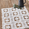 Winter Wonderland -- Winter Snow Table Mat