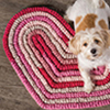 Hearts all Around -- Big Hearts Rug