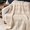 Timeless Textures -- Cable Play Afghan