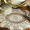 Heirloom Treasures -- Tulip Time Doily