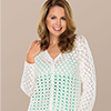 Touch of Style -- Two-Lace Cardi