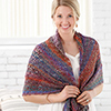 Learn a Stitch -- Lacy Shells Wrap