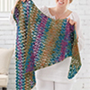 Stress-Free Crochet -- Margo Shawl