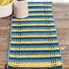 Stress-Free Crochet -- Sun & Shadow Table Runner