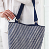 Mosaic Crochet -- Town & Country Tote