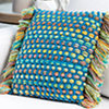 Stress-Free Crochet -- Woven Pillow