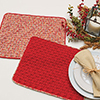 Learn a Stitch -- Basket-Weave Place Mat