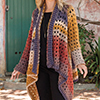 The Glorious Granny Square -- Euphoria Cardi